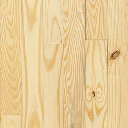 3/4 in. Southern Yellow Pine Unfinished Solid Hardwood Flooring 3.13 in. Wide