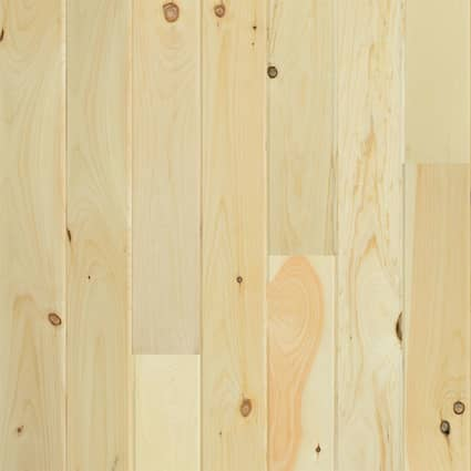 3/4 in. New England White Pine Unfinished Solid Hardwood Flooring 5.13 in. Wide