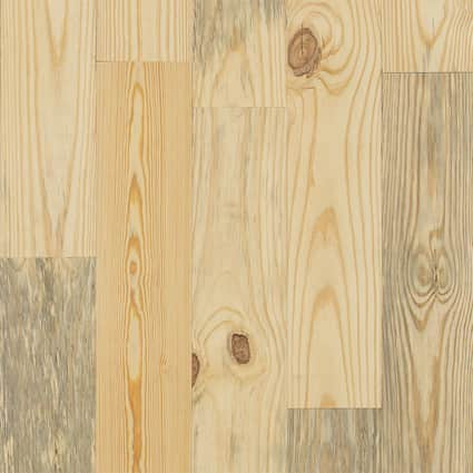 3/4 in. Southern Yellow Pine Unfinished Solid Hardwood Flooring 6.88 in. Wide