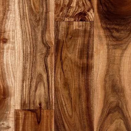 3/4 in. Tobacco Road Acacia Solid Hardwood Flooring 3.6 in. Wide