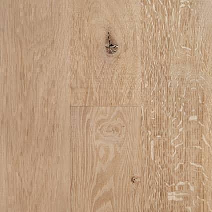 3/4 in. White Oak Unfinished Solid Hardwood Flooring 5 in. Wide