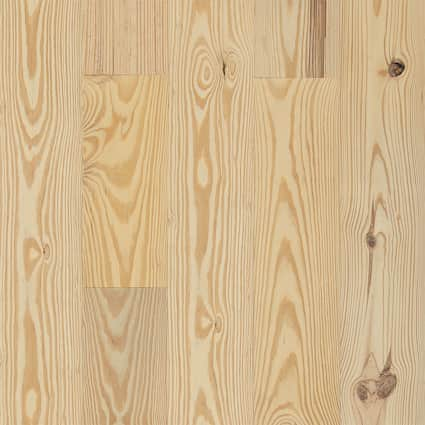 3/4 in. Southern Yellow Pine Unfinished Solid Hardwood Flooring 8.875 in. Wide