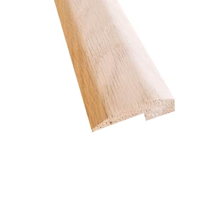 Unfinished Red Oak Hardwood 5/8 in thick x 2 in wide x 8 ft Length Threshold