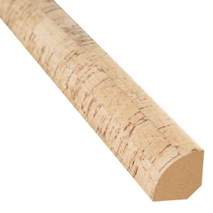 Castelo Cork 0.75 in wide x 7.5 ft length Quarter Round