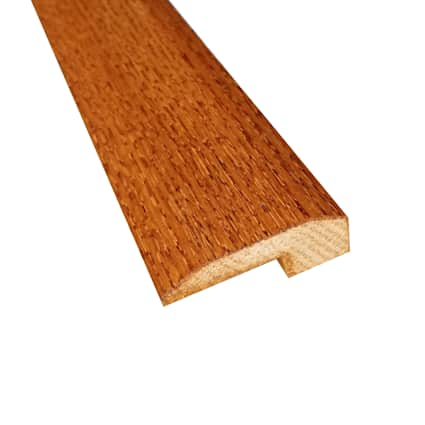 Prefinished Classic Gunstock Oak Hardwood 5/8 in thick x 2 in wide x 6.5 ft Length Threshold