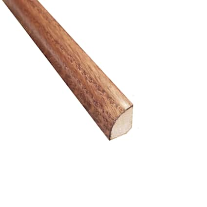 Prefinished Cherry Oak Hardwood 1/2 in thick x .75 in wide x 78 in Length Shoe Molding