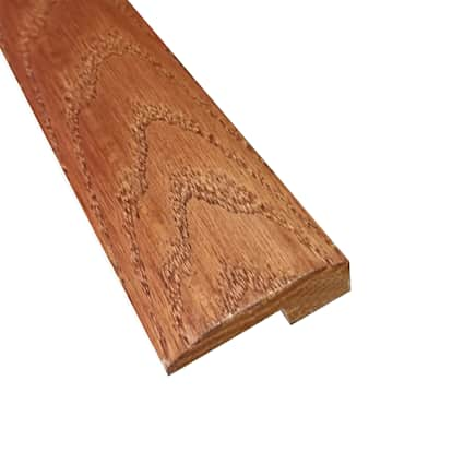 Prefinished Cherry Oak Hardwood 5/8 in thick x 2 in wide x 6.5 ft Length Threshold