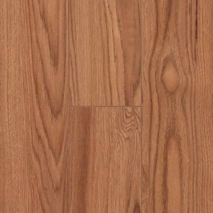 10mm+pad Crystal Springs Hickory Laminate Flooring 4.57 in. Wide x 54 in. Long