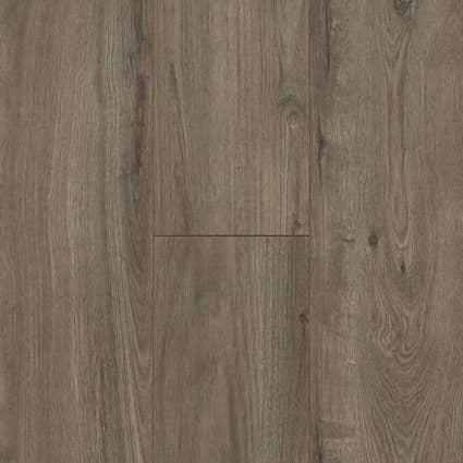 8mm Pewter Oak Laminate Flooring 7.64 in. Wide x 50.63 in. Long