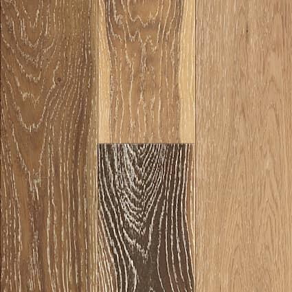 3/8 in. Vintage French Oak Distressed Engineered Hardwood Flooring 6.38 in. Wide