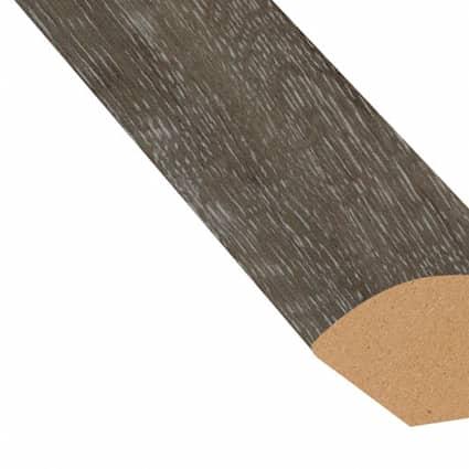 Fieldstone Oak Vinyl 0.75 in wide x 7.5 ft length Quarter Round
