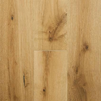 9/16 in. Whispering Wheat Oak Engineered Hardwood Flooring 7.5 in. Wide