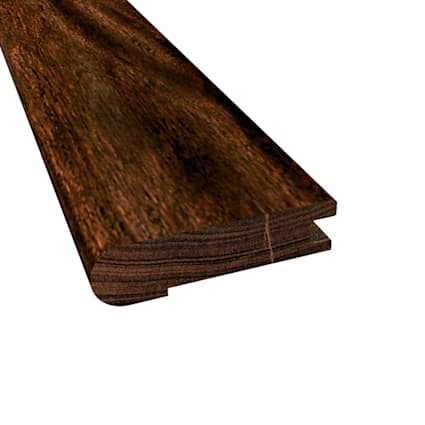 Prefinished Burnished Acacia Hardwood 5/8 in thick x 2.75 in wide x 78 in Length Stair Nose