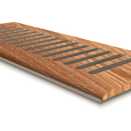 """4"""" x 12"""" Hot Springs Hickory Drop In Grill"""