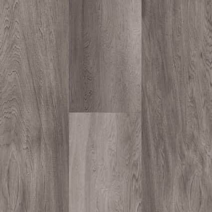 5mm Stormy Gray Oak Waterproof Luxury Vinyl Plank Flooring 6 in. Wide x 48 in. Long