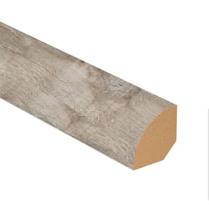 Topsail Oak Laminate 0.75 in wide x 7.5 ft length Quarter Round