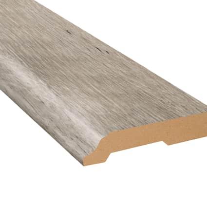 Topsail Oak Laminate 3.25 in wide x 7.5 ft Length Baseboard