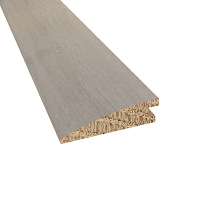 Prefinished Barcelona White Oak Hardwood 5/8 in thick x 2.25 in wide x 78 in Length Reducer