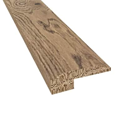 Prefinished Madrid White Oak Hardwood 5/8 in thick x 2 in wide x 78 in Length Threshold