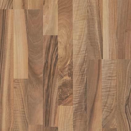7mm Garden View Walnut Laminate Flooring 7.59 in. Wide x 54.33 in. Long
