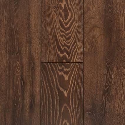 12mm Elusive Brown Oak 72 Hour Water-Resistant Laminate Flooring 8 in. Wide x 47.64 in. Long