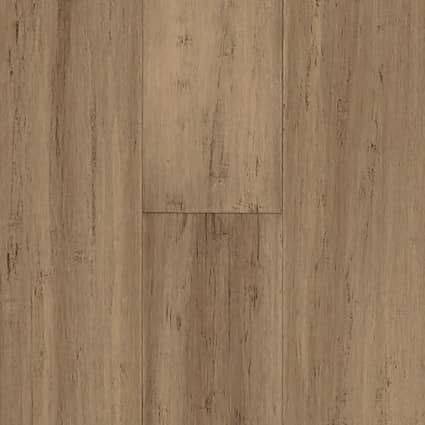 6mm Strand Toffee Engineered 72 Hour Water-Resistant Click Bamboo Flooring 5.13 in. Wide