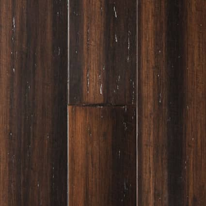 9/16 in. Portland Strand Distressed Wide Plank Solid Bamboo Flooring 5.13 in. Wide