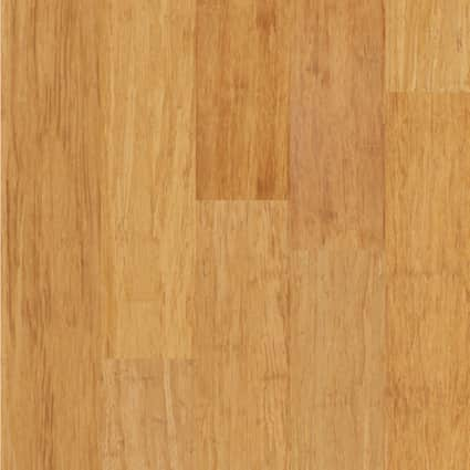 3/8 in. Strand Natural Wide Plank Engineered Click Bamboo Flooring 5.13 in. Wide