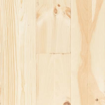 3/4 in. New England Edge/Center Bead White Pine Unfinished Solid Hardwood Flooring 6.88 in. Wide