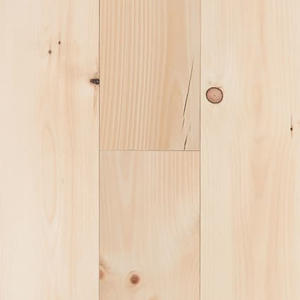 3/4 in. New England Nickel Gap White Pine Unfinished Solid Hardwood Flooring 6.88 in. Wide