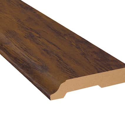 Commonwealth Rustic Hickory Laminate 3.25 in wide x 7.5 ft Length Baseboard