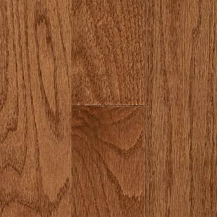 3/4 in. Gunstock Oak Solid Hardwood Flooring 3.25 in. Wide