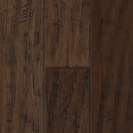 3/8 in. Madison County Strand Distressed Wide Plank Engineered Click Bamboo Flooring 5.13 in. Wide