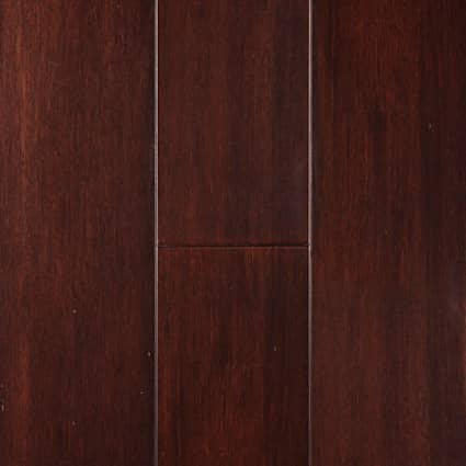 6mm Cabernet Extra Wide Plank Engineered 72 Hour Water-Resistant Bamboo Flooring 7.5 in. Wide