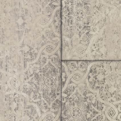 6mm w/pad Victorian Chic Linen Waterproof Rigid Vinyl Plank Flooring 18 in. Wide x 36 in. Long