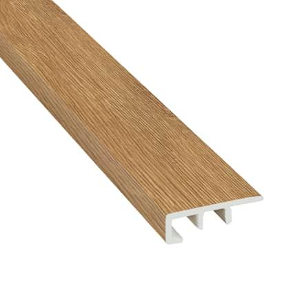 Wheat Field Oak Laminate Waterproof 1.56 in wide x 7.5 ft Length Low Profile Reducer