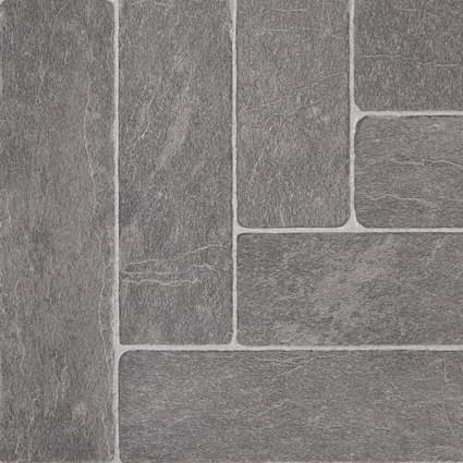 8mm Burgess Gray Brick 24 Hour Water-Resistant Laminate Flooring 11.5 in. Wide x 46.57 in. Long