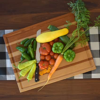 Moulstown 1 in x 15 in x 20 in Butcher Block Cutting Board