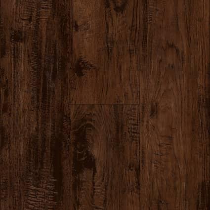5mm w/pad Homeland Hickory Waterproof Rigid Vinyl Plank Flooring 7.56 in. Wide x 48 in. Long