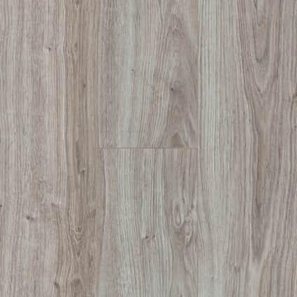 12mm+pad Seashell Oak 24 Hour Water-Resistant Laminate Flooring 7.5 in. Wide x 50.67 in. Long