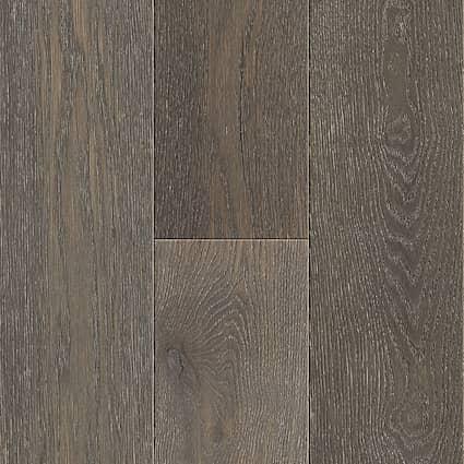 7mm+pad Earl Gray White Oak Distressed Water-Resistant Engineered Hardwood Flooring 7.5 in. Wide