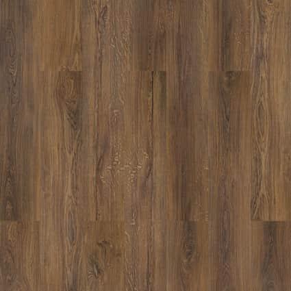 6mm Sylvan Brown Oak Waterproof Cork Flooring 7.67 in. Wide x 48.22 in. Long