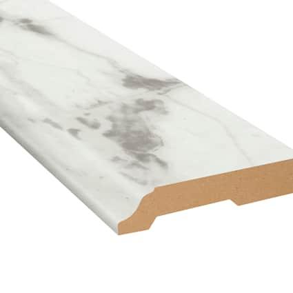 De Milo Marble Vinyl 3.25 in wide x 7.5 ft Length Baseboard