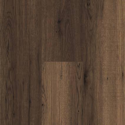 12mm w/pad Truffle Oak Laminate Flooring 7.6 in Wide x 54 in. Long