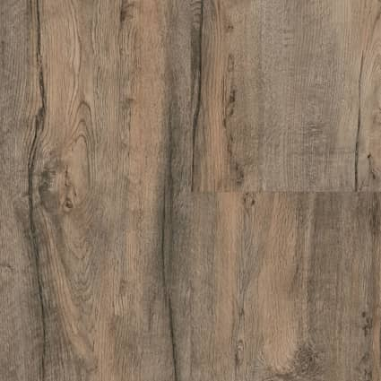 8mm Skippers Canyon Oak 24 Hour Water-Resistant Laminate Flooring 12.95 in Wide x 50.79 in. Long