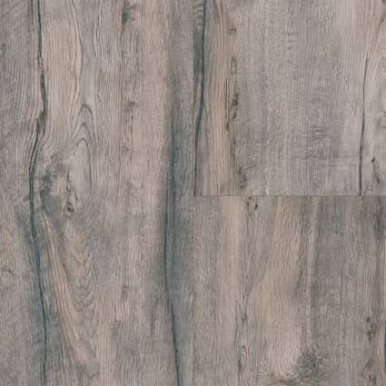 8mm Provo Canyon Oak 24 Hour Water-Resistant Laminate Flooring 12.95 in Wide x 50.79 in. Long