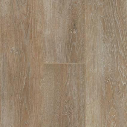 7mm+pad Chapel Bridge Oak Waterproof Hybrid Resilient Flooring 7.56 in. Wide x 50.63 in. Long