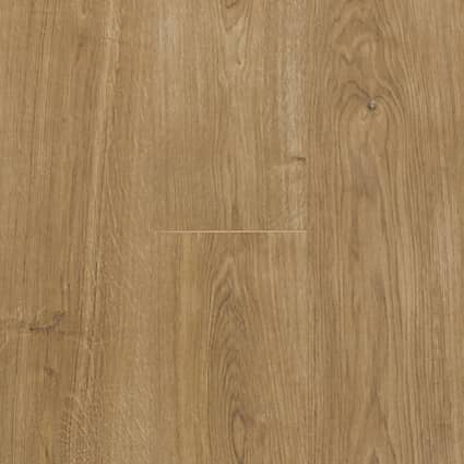 7mm+pad Bay Bridge Oak Waterproof Hybrid Resilient Flooring 7.56 in. Wide x 50.63 in. Long