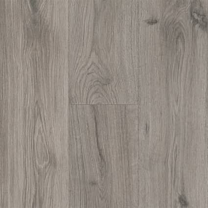 7mm+pad Silk Spire Oak Waterproof Hybrid Resilient Flooring 7.56 in. Wide x 50.63 in. Long