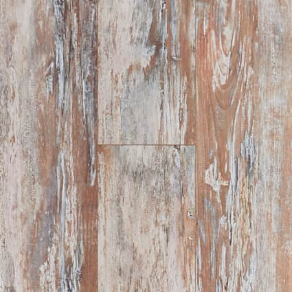 7mm+pad Tuscan Range Maple Waterproof Hybrid Resilient Flooring 7.56 in. Wide x 50.63 in. Long